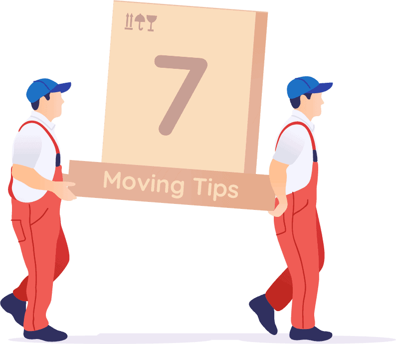 7 cost-saving tips when moving.